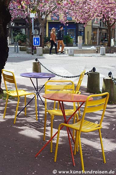 Straßencafé, Rouen