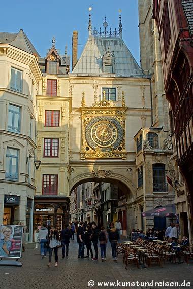 Gros horloge - große Uhr, Rouen