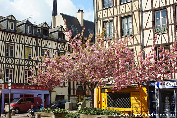 Malerischer Platz, Rouen
