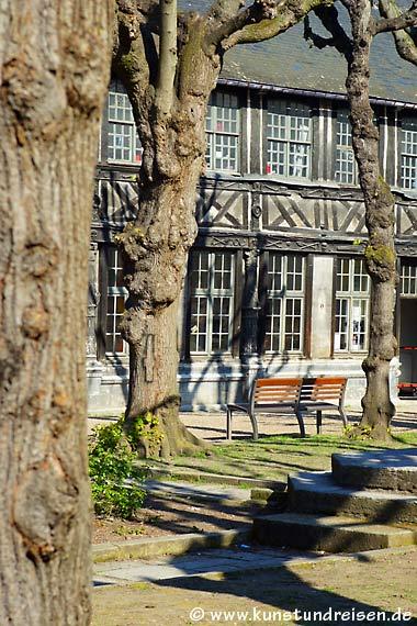 Pest-Beinhaus L�aître Saint-Maclou, Rouen